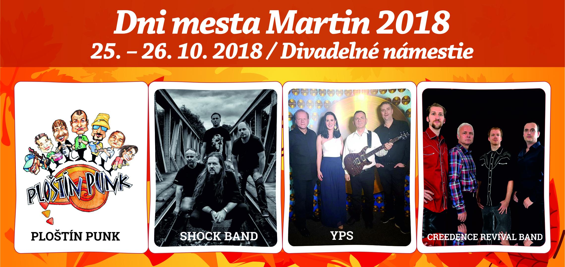 Dni mesta Martin 2018