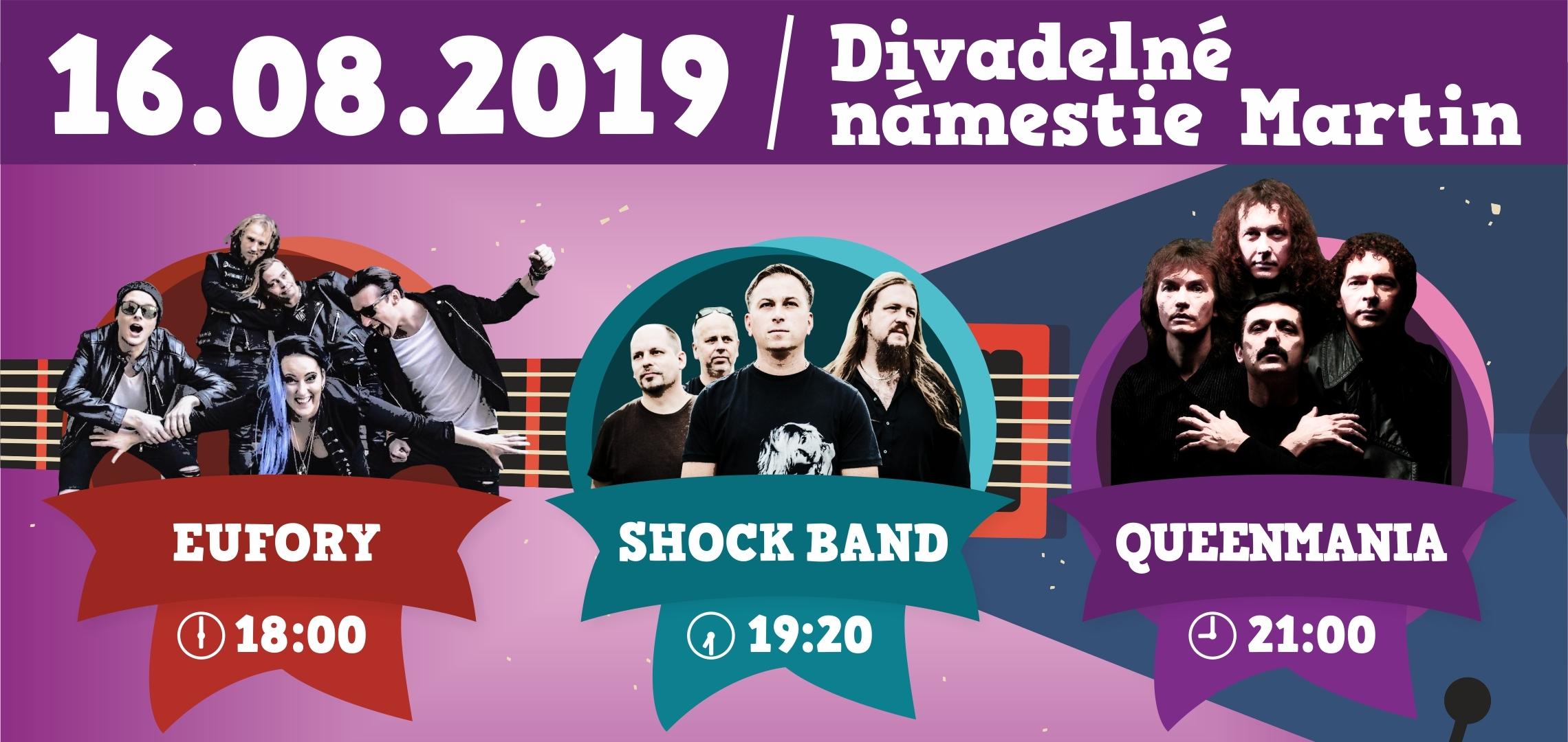 Eufory, Shock Band, Queenmania
